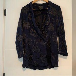 Dynamite | Floral Flowy Blazer Jacket